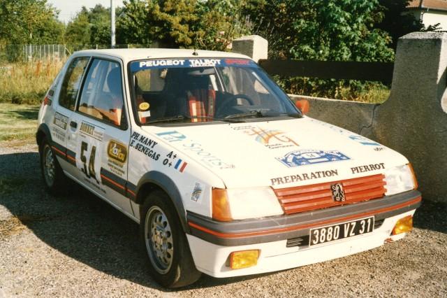 205 GTI 1.6 Gr. N et Gr. A / E.SENEGAS (1988 à 1991) UpsBsI