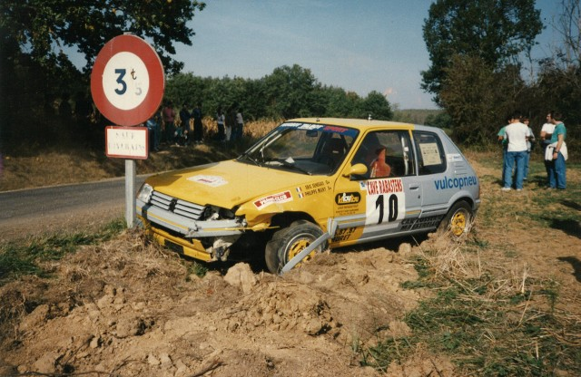 205 GTI 1.6 Gr. N et Gr. A / E.SENEGAS (1988 à 1991) ALVZkW