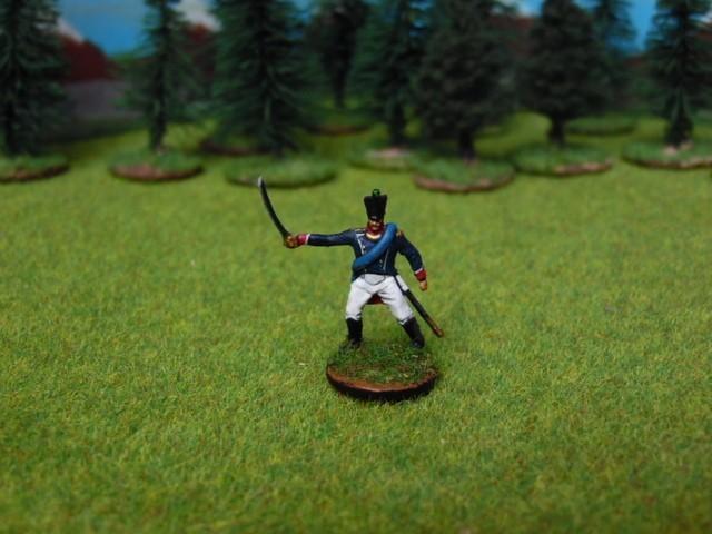 Jeune garde napoléonienne au 1/72 IVEs2v