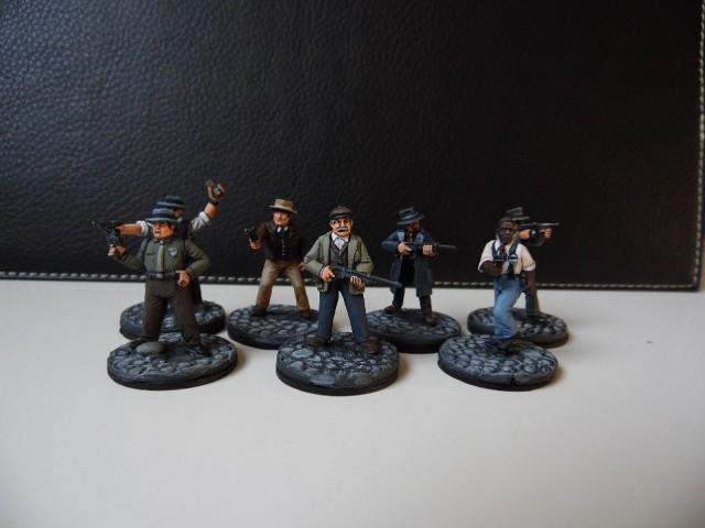 Prohibition : Gangsters, agents féderaux du tresor et citoyens. 28mm AbLwvS