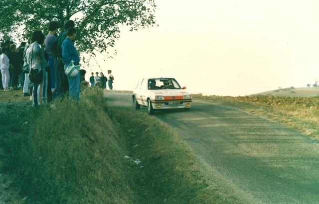 205 GTI 1.6 Gr. N et Gr. A / E.SENEGAS (1988 à 1991) EGQP3x