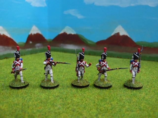 Grenadiers hollandais au 1/72 ROisVQ