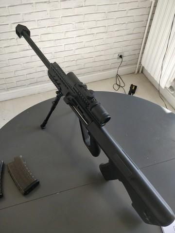 M4 Cqb Vfc, Steyr Aug Kit M82, Glock 19 Gbb, Beretta Gbb, Et Matos Divers, vente suite arrêt Rx2oWv