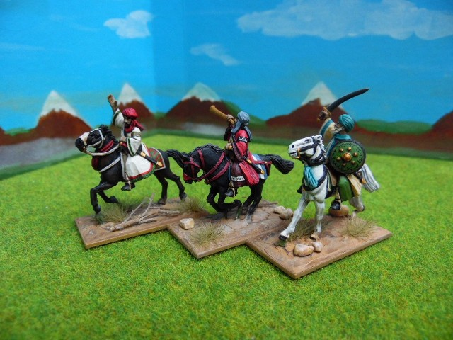 Cavaliers Maures (or less) 28mm YTr865