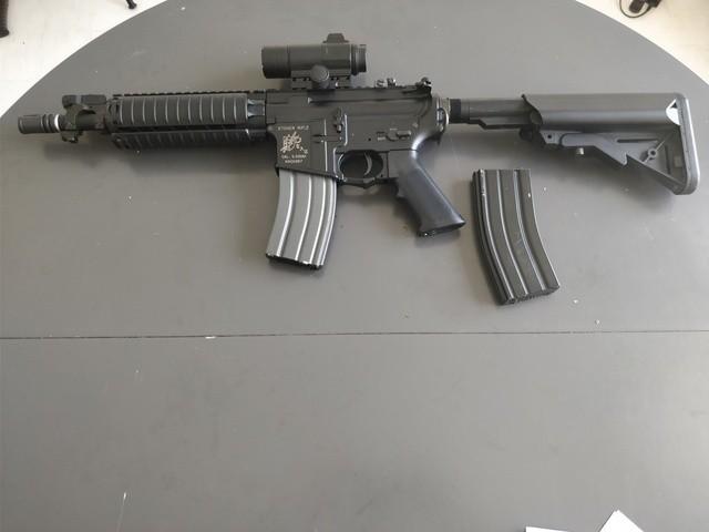 M4 Cqb Vfc, Steyr Aug Kit M82, Glock 19 Gbb, Beretta Gbb, Et Matos Divers, vente suite arrêt 8klYaT