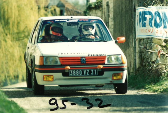 205 GTI 1.6 Gr. N et Gr. A / E.SENEGAS (1988 à 1991) 9pSPOM