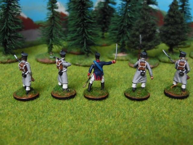 Jeune garde napoléonienne au 1/72 Ekrdl5