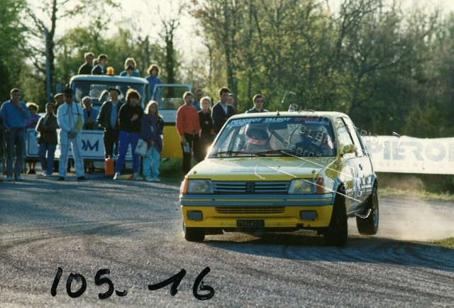 205 GTI 1.6 Gr. N et Gr. A / E.SENEGAS (1988 à 1991) KTx1VG