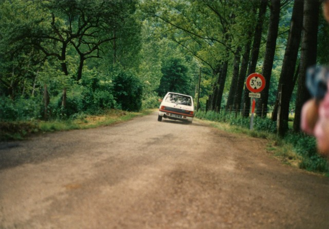 205 GTI 1.6 Gr. N et Gr. A / E.SENEGAS (1988 à 1991) NBTUna