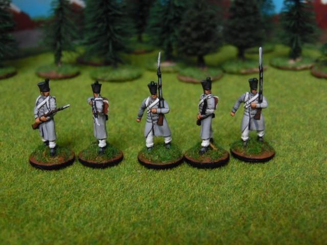 Jeune garde napoléonienne au 1/72 I78zRB