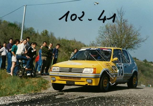 205 GTI 1.6 Gr. N et Gr. A / E.SENEGAS (1988 à 1991) O1Yod4