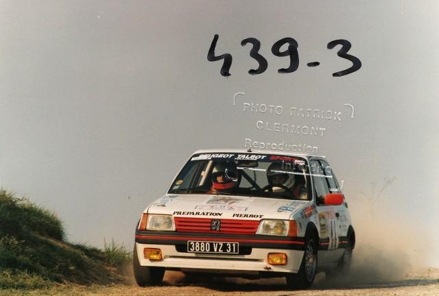 205 GTI 1.6 Gr. N et Gr. A / E.SENEGAS (1988 à 1991) RI08sB