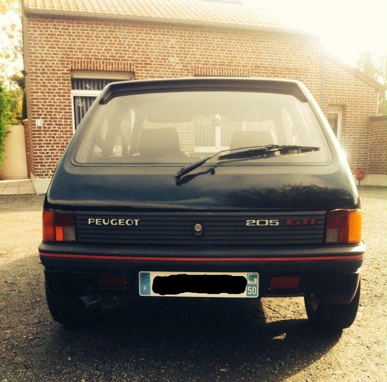 [Antoine350Z]  205 GTI 1.6 1986 -> MI16 WTllzd