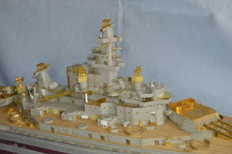 ABSD ARTISAN et USS MASSACHUSETTS BB-59 au 1/350 - Page 5 33sPJk