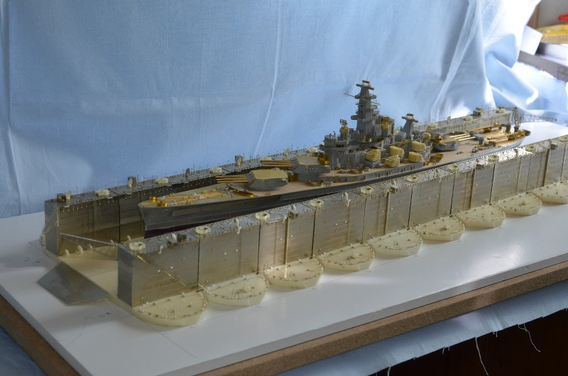 ABSD ARTISAN et USS MASSACHUSETTS BB-59 au 1/350 - Page 5 KE1JlJ