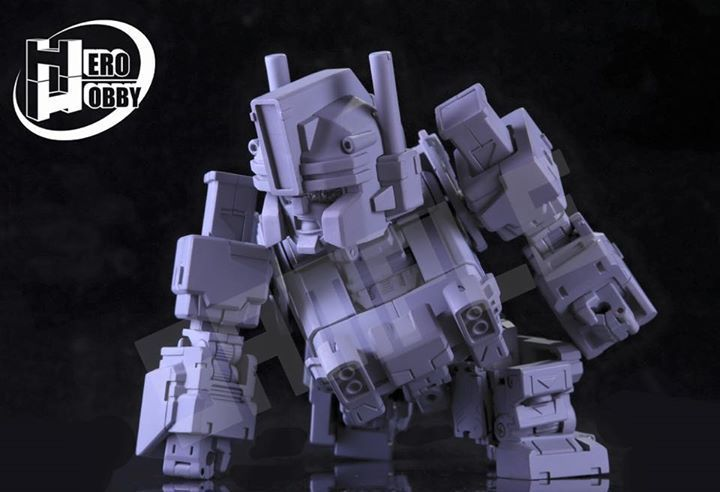 Produit Tiers - Figurine miniature déformé (transformable) - Par: Hero Hobby + MiniPower + Master Made NTGNEg