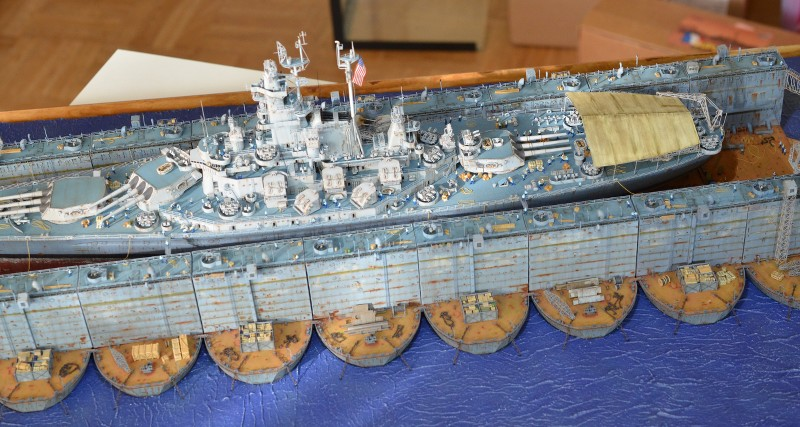 ABSD ARTISAN et USS MASSACHUSETTS BB-59 au 1/350 - Page 13 RSVZbW
