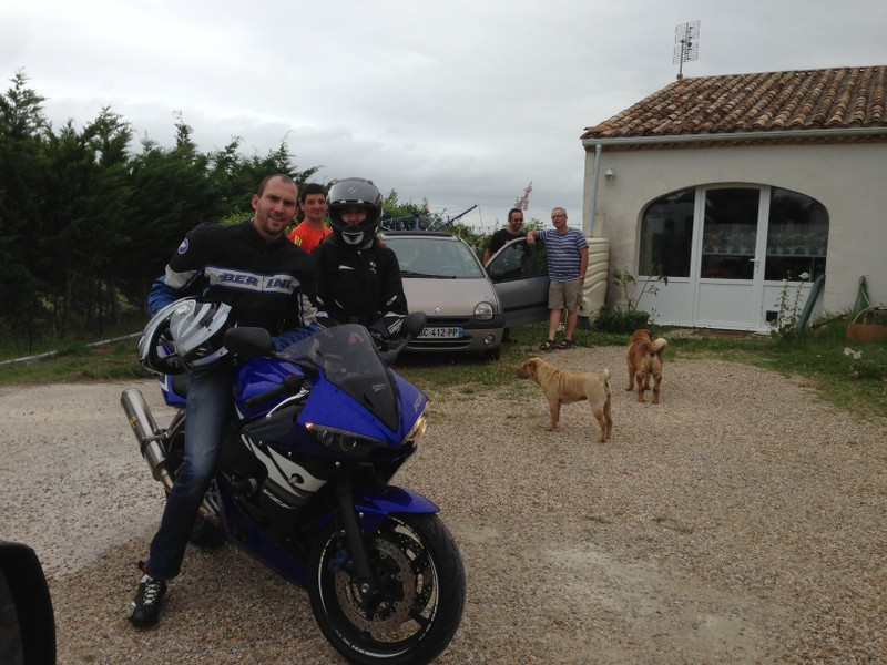 La traversée de la France avec ma p'tite Jeep NZJc73