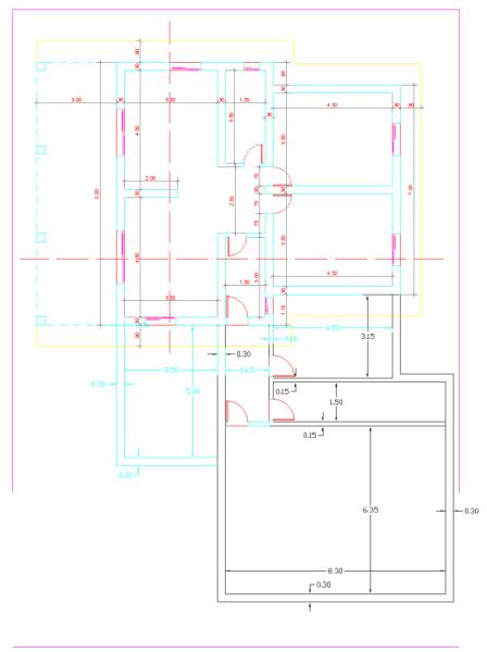 Ayuda para ampliación con estructura metálica 4x79