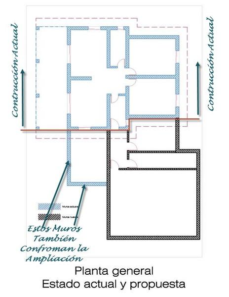 Ayuda para ampliación con estructura metálica El3s