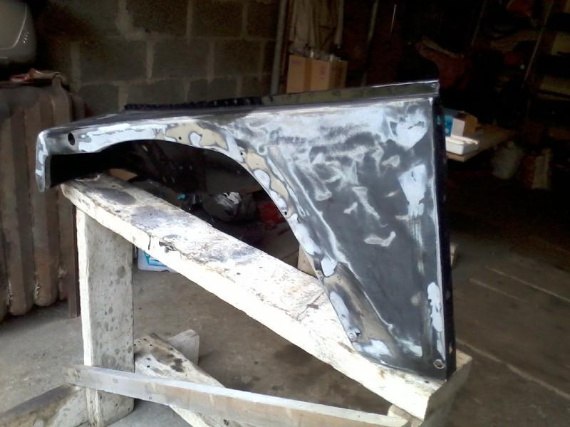 réparation ailes d'YJ 4.0L Yz6x