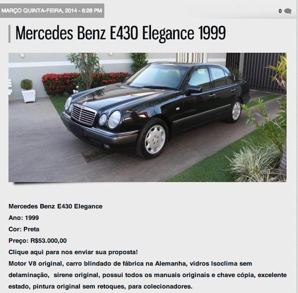 W210 - E430 1999 EB4 - R$53.000,00 U9yp
