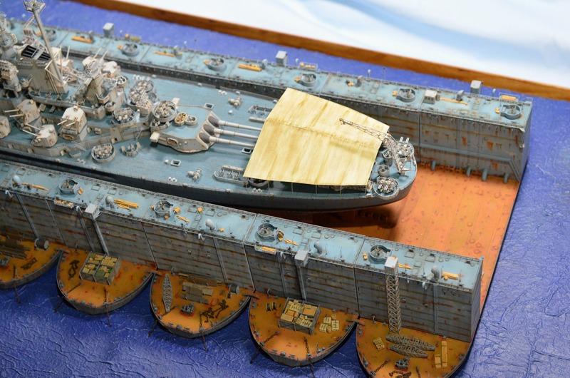 ABSD ARTISAN et USS MASSACHUSETTS BB-59 au 1/350 - Page 11 KjyfZz