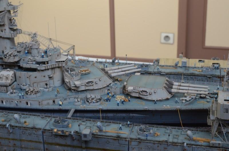 Dio : Dock Flottant ABSD et cuirassé BB-59 (1/350°) COWGtD