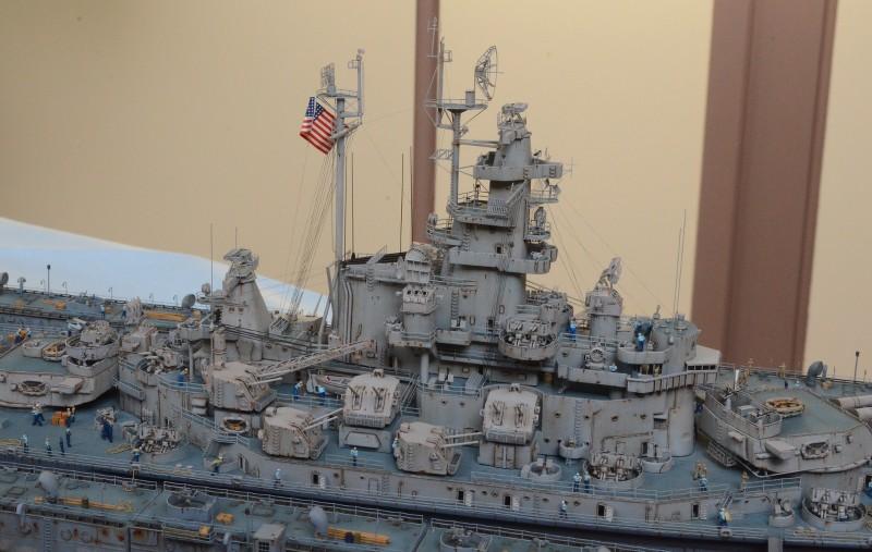 Diorama Terminé du Dock Flottant ABSD et cuirassé BB-59 au 1/350 de Trumpeter 8Zecg0