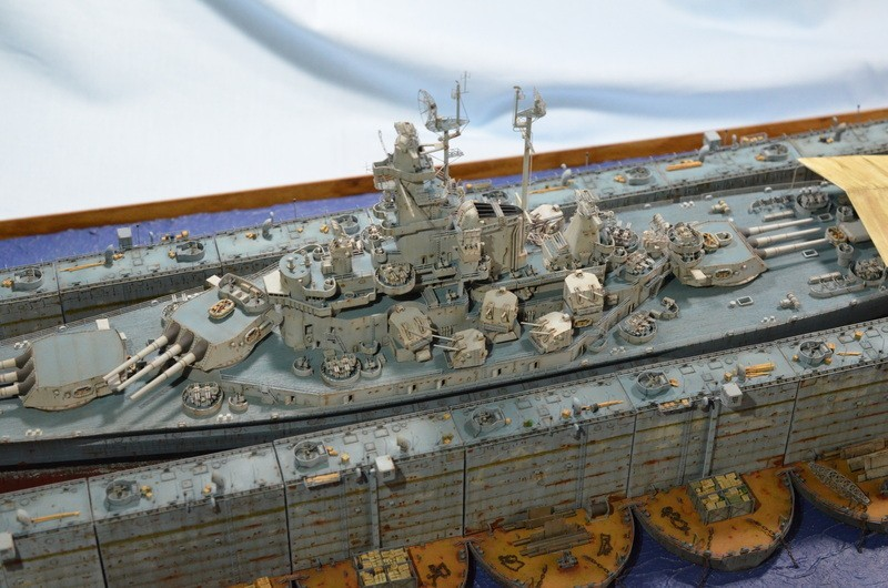 ABSD ARTISAN et USS MASSACHUSETTS BB-59 au 1/350 - Page 11 OkViD7