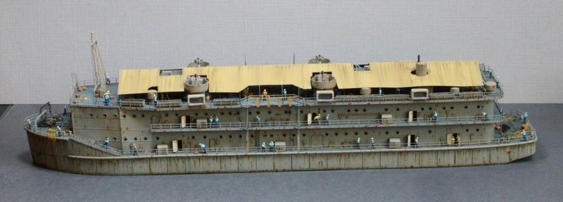 ABSD ARTISAN et USS MASSACHUSETTS BB-59 au 1/350 - Page 12 EyyFA0