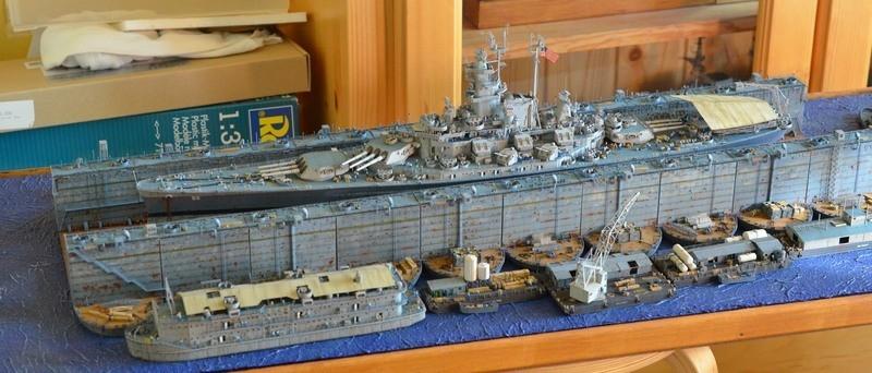 ABSD ARTISAN et USS MASSACHUSETTS BB-59 au 1/350 - Page 13 NkwHUv