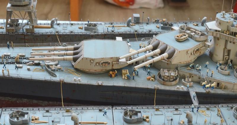 Diorama Terminé du Dock Flottant ABSD et cuirassé BB-59 au 1/350 de Trumpeter MVkOgS