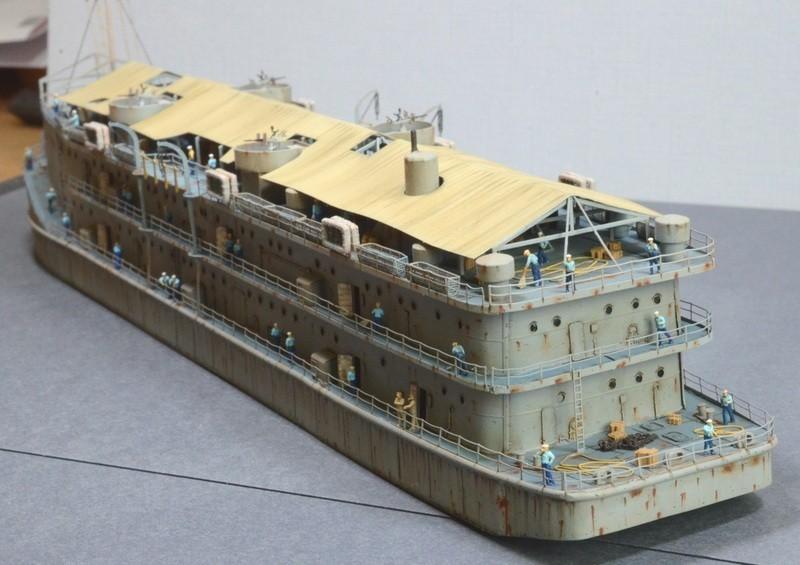 ABSD ARTISAN et USS MASSACHUSETTS BB-59 au 1/350 - Page 12 LoVx1V