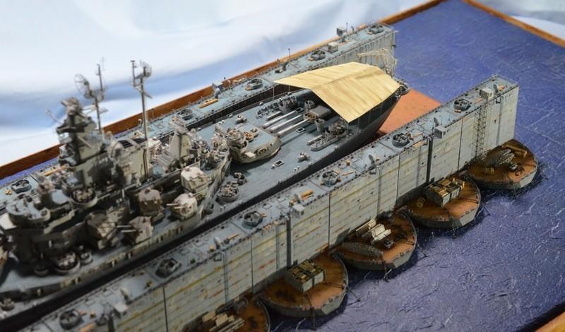 ABSD ARTISAN et USS MASSACHUSETTS BB-59 au 1/350 - Page 11 NNgWko