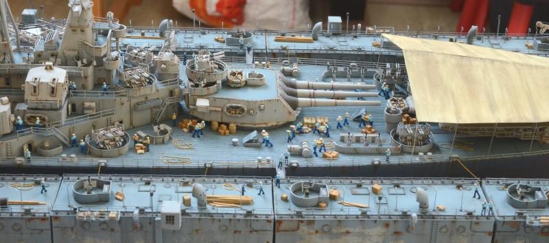 Diorama Terminé du Dock Flottant ABSD et cuirassé BB-59 au 1/350 de Trumpeter ZbBwu4