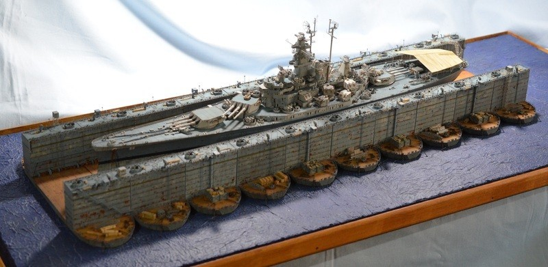 ABSD ARTISAN et USS MASSACHUSETTS BB-59 au 1/350 - Page 11 E7ZdCy