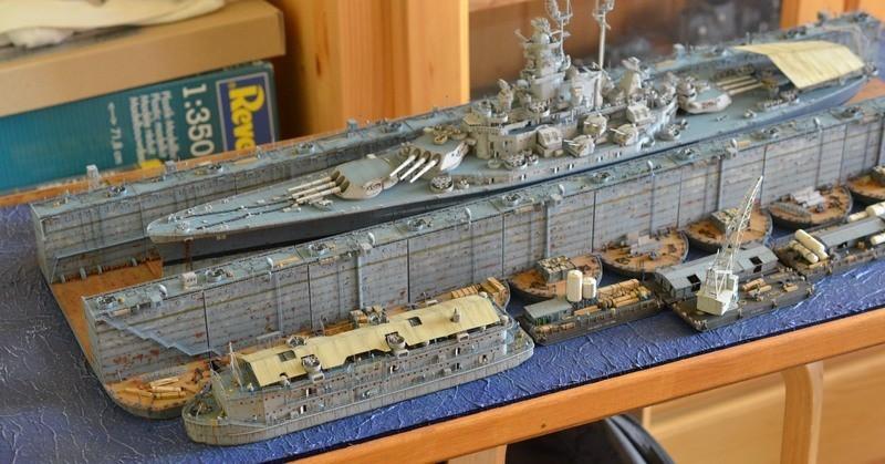 ABSD ARTISAN et USS MASSACHUSETTS BB-59 au 1/350 - Page 12 YkzakF