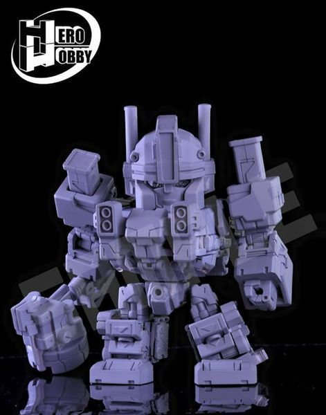 Produit Tiers - Figurine miniature déformé (transformable) - Par: Hero Hobby + MiniPower + Master Made DxgcCg