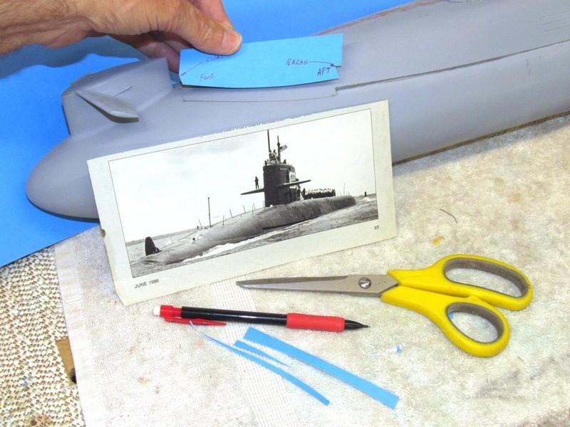 Assembling the excellent Scale Shipyards 1/96 SSBN, USS Daniel Webster XRsHT8