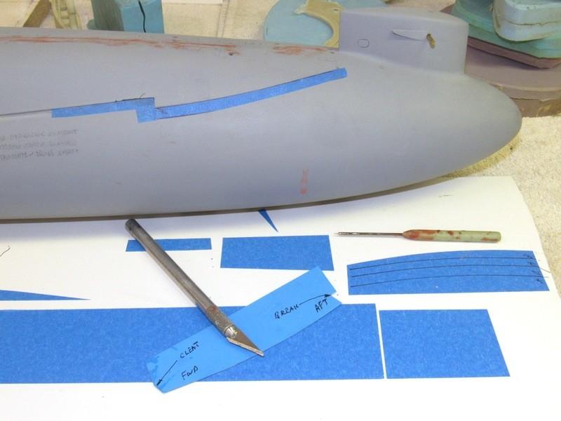 Assembling the excellent Scale Shipyards 1/96 SSBN, USS Daniel Webster CIaDlp