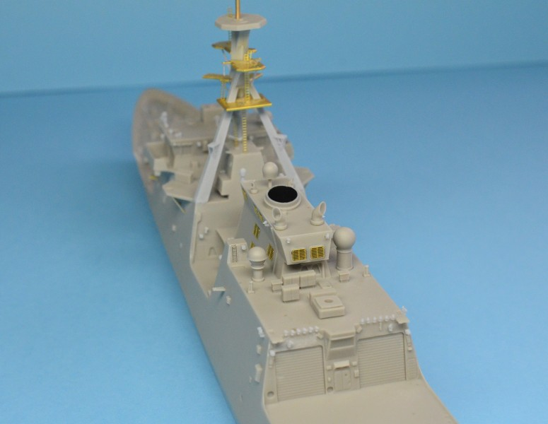USCGS BERTHOLF 750 au 1/350 de chez Black Cat Model FEFtM2