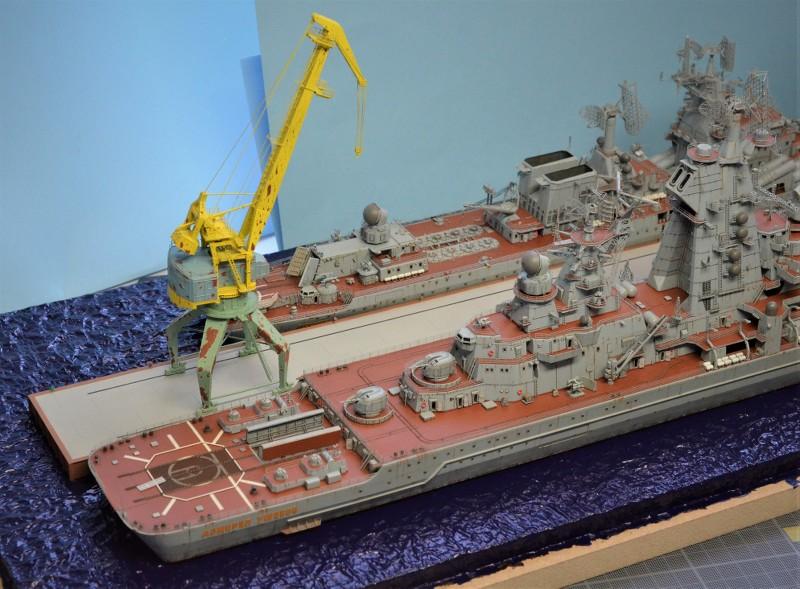 Diorama Class KIROV et Class SLAVA au 1/350 – Kit Trumpeter - Page 9 0Pw7dt
