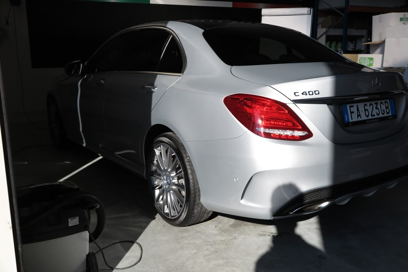 Admin Vs Mercedes C400 4 Matic Gtechniq Crystal Serum Black AOmsE3
