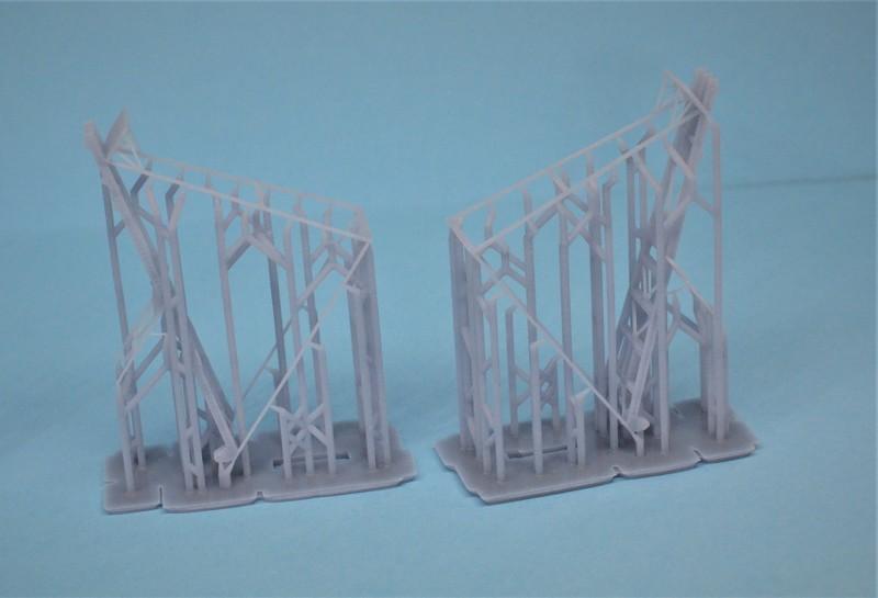 Grues sur barges & remorqueur (Impression 3D 1/350°) de NOVA73 CItYSe