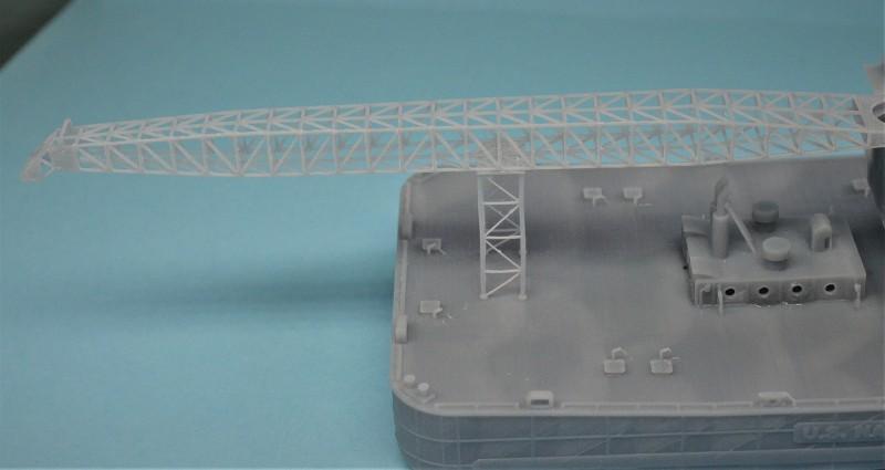 Grues sur barges & remorqueur (Impression 3D 1/350°) de NOVA73 EUPaXx