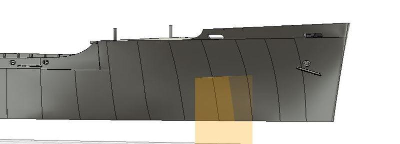 USS CAGE APA-168 au 1/350 F7XE0E