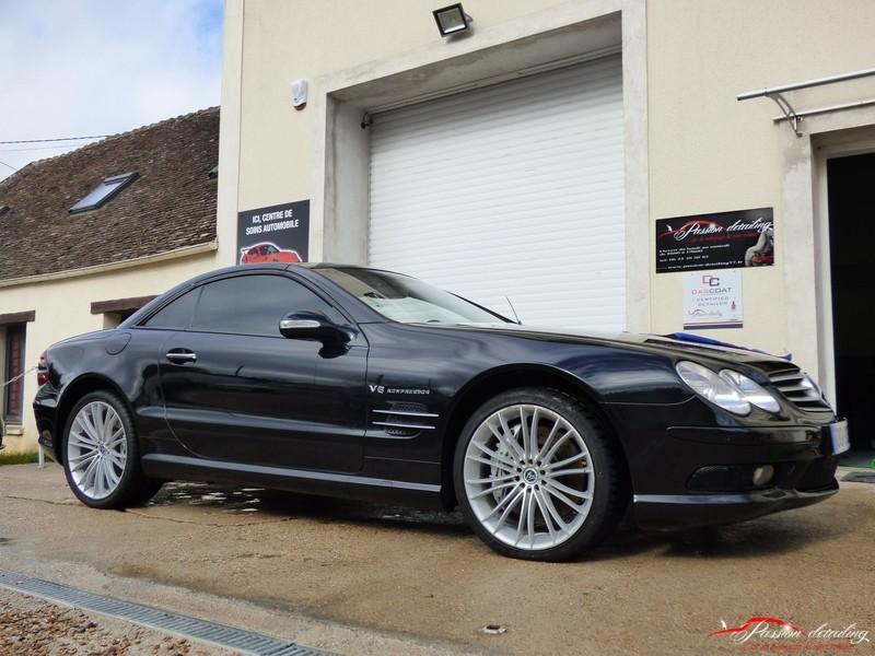 [Rénovation, esthétique, detailing autos] mercedes SL 55AMG JIWjW4