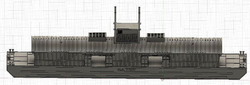 Grues sur barges & remorqueur (Impression 3D 1/350°) de NOVA73 Jd4rsm