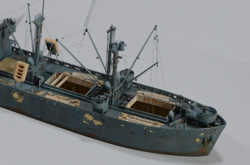 Diorama Port Mulberry A Omaha Beach 16 Juin 1944 au 1/350 - Scratch sur base Iron Shipwrights, Trumpeter et l'Arsenal Zp2BPt